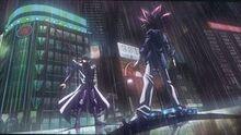Kaiba y Yugi se encuentran