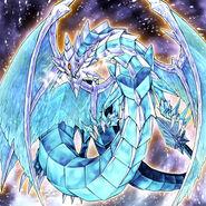 Foto brionac, dragón de la barrera de hielo