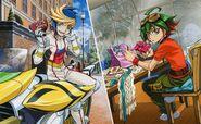 Arc v Yuya Yugo y Rin