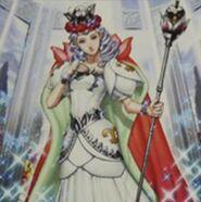 Foto reina nereia de la corona de plata