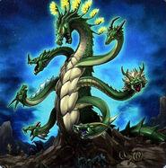 Foto dragón de agave