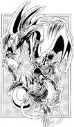 Dragón Mascota de Arpía Manga