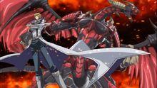 Jack y su Dragón Rojo Archidemonio