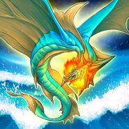 Foto leviair el dragón marino
