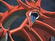 Slifer el dragón del cielo en yugioh