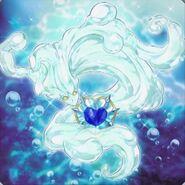 Foto corazón de cristal marincesa