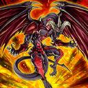 Foto dragón rojo archidemonio