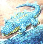 Foto archosaurio animadornado