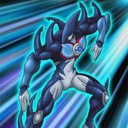 HÉROE Elemental Neos Marino (ilustración anime)