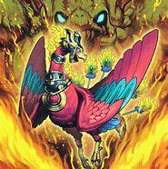 Foto avatar del rey de fuego garunix