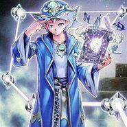 Foto el mago del libro de magia de la profecía