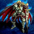 Foto el guerrero volviendo con vida