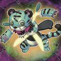 Foto tigre atemorizante