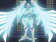 HÉROE Elemental Shining Flare Wingman en el Anime
