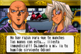 Odion lucha por Marik (Stairway to the Destined Duel)