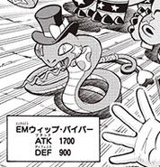 Artistamigo Serpiente Látigo (Invocación-ARC-V Manga)