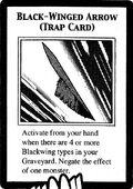 Flecha de alas negras