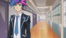 Yusaku ignorando a Naoki