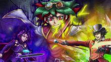 Yuya, Yuri y Yusho