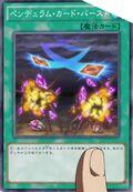 Explosión de las cartas de péndulo
