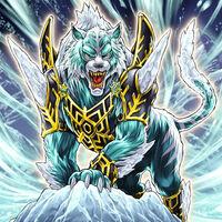 Foto dewloren, rey tigre de la barrera de hielo