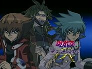 Cortinilla Yusuke, Jaden y Jesse