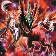 Foto dragón fantasmal mascota de la arpía