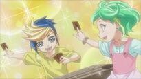Yugo y Rin niños