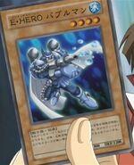 HÉROE Elemental Bubbleman (Carta-GX1)
