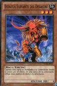 Estatua elefante del desastre