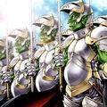 Foto fuerza de ataque de élite goblin