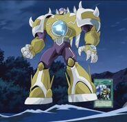 HÉROE Elemental del Trueno Gigante Anime