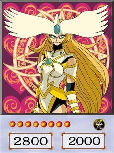 Magician of White Chaos Ritual dubbed anime