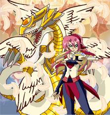 Cyan heavendragon