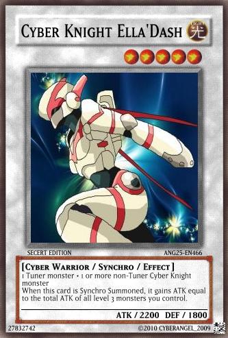 Cyber Knight Ella'Dash