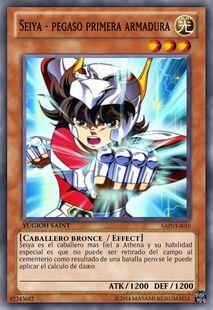 Seiya - Pegaso primera armadura