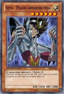 Seiya - Pegaso armadura final