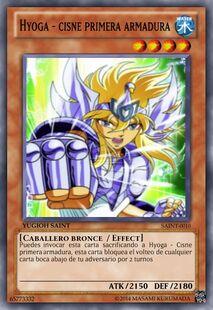 Hyoga - Cisne segunda armadura