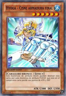 Hyoga - Cisne armadura final