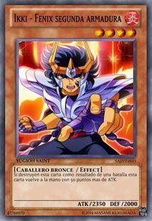 Ikki - Fenix segunda armadura