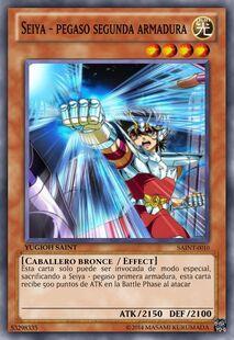 Seiya - Pegaso segunda armadura