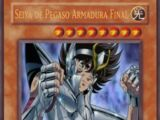 Seiya de Pegaso Armadura Final
