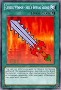 Genesis Weapon - Hell's Infenal Sword NEW
