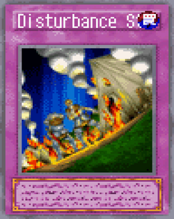 Disturbance Strategy 2004