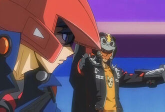 Yusei versus Hunter