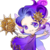 Sun Fairy (Purple) t