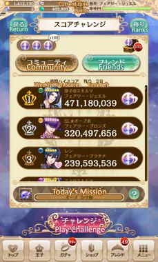 Score challenge