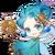 Sun Fairy (Blue) t
