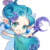 Moon Fairy (Blue) t