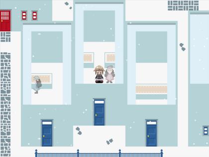 Snowyapartment unit
